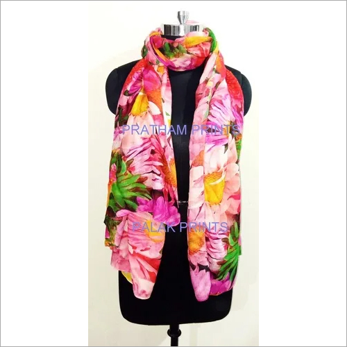 VISCOSE DIGITAL SCARVES