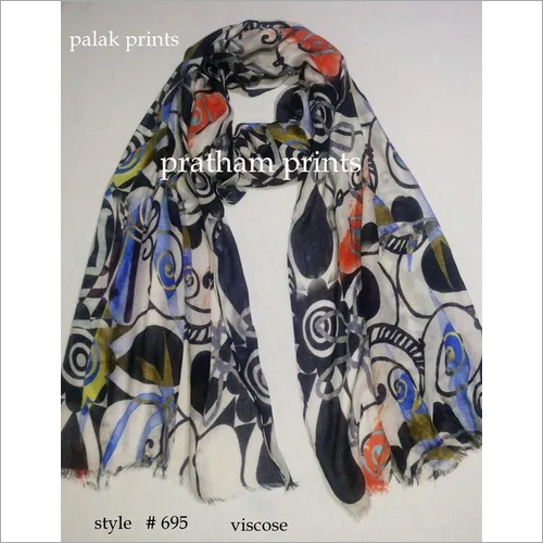 VISCOSE DIGITAL PRINTED SCARVES