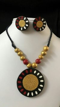 Terracotta Jewellery Set