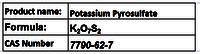 Potassium Pyrosulfate