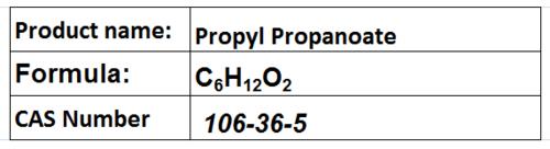 Propyl Propanoate