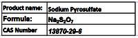 Sodium Pyrosulfate