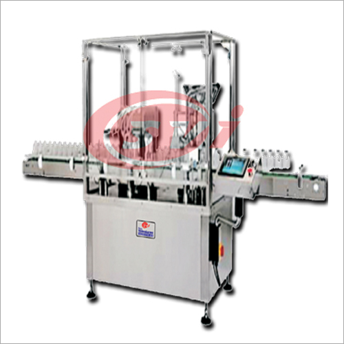 Vial Liquid Filling & Rubber Stoppering Machine