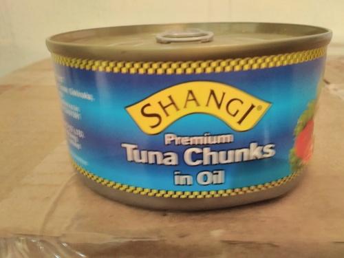 tuna in oil