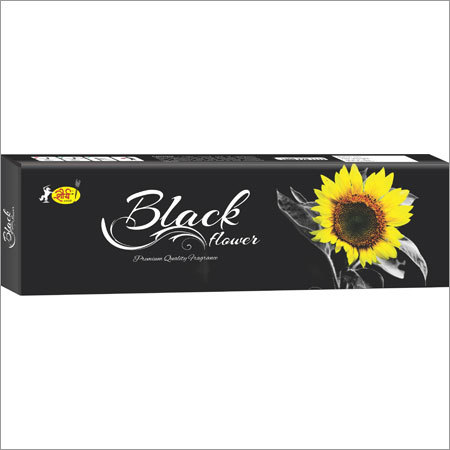 Black Flower Agarbatti
