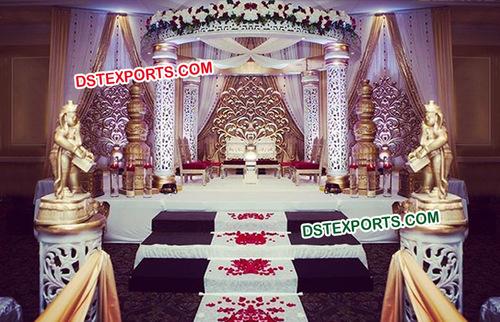 Gorgeous Wedding Fiber Jali Mandap
