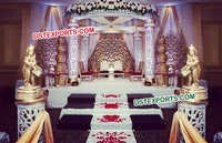 Gorgeous Wedding Fiber Jali Mandap