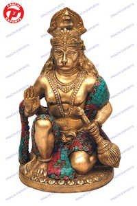 Hanuman B/Hand Rd. Base W/ Stone Work