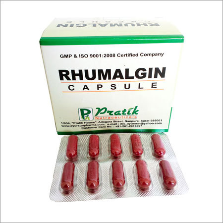 Rhumalgin Capsule For Rehumetisum And Arthritis