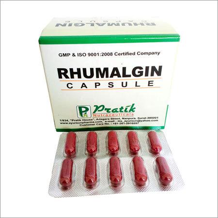 Rhumalgin Capsule For Rehumetisum And Arthritis