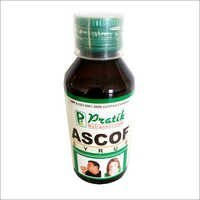 Ascof Syrup For Herbal Cough Cleaner