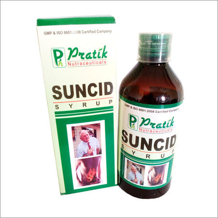Suncid Syrup For Acid Peptic Disorders