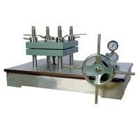 Laboratory Sheet Press (Hydraulic Type-Manually)