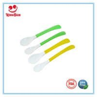 Long Handle TPR Baby Spoon