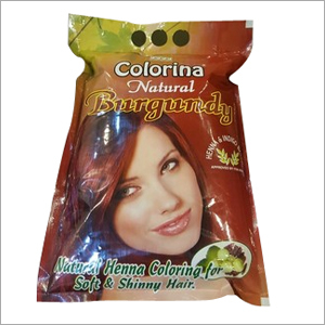 COLORINA BURGUNDY HENNA POWDER
