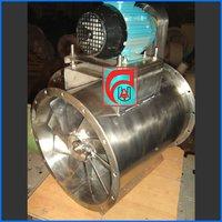 Tube Axial Fan V-Belt Drive