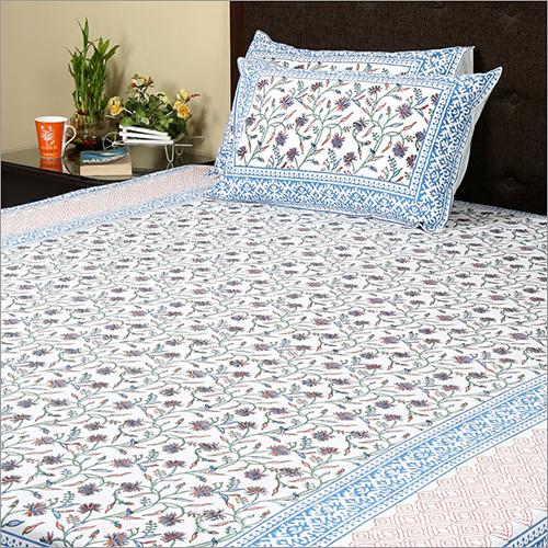 Block Print Bedsheet Design