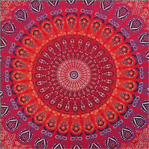 Mandala Bed Sheet Design