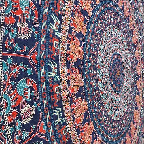 Jaipuri Mandala Bed Sheet Design