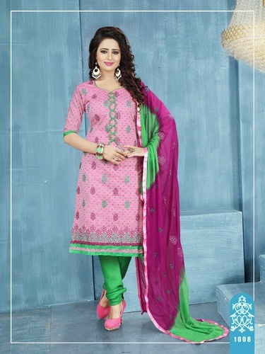 Hand Embroidered Salwar Suit