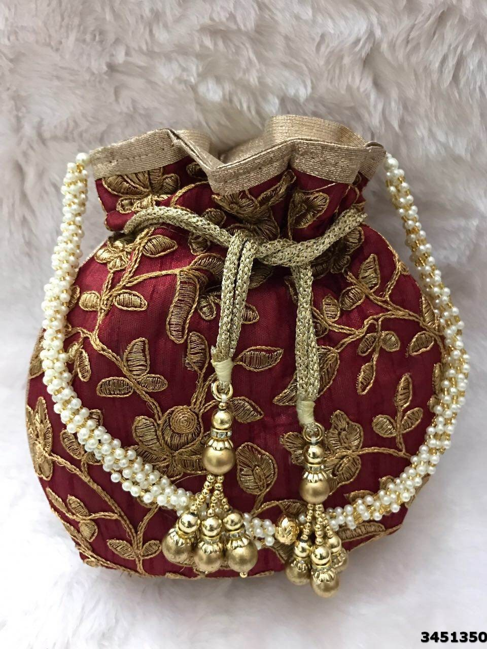 Beautiful Ethnic Potli Bag