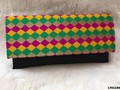 Ethnic Jute Clutch Bag