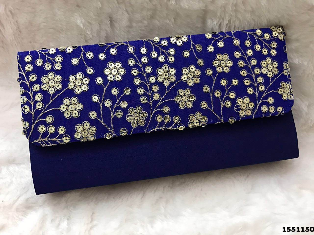 Designer Silk Evening Bag