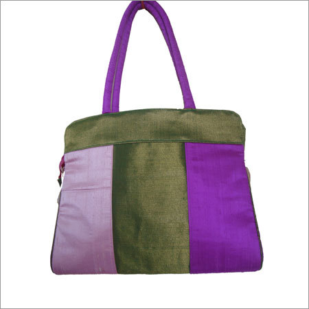 Multi Color Silk Bags