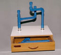 Pipe Assembly Station used in Occupational Therapy