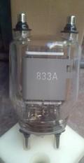 Tride Valve 833a For Shortwave Diathermy 500 W