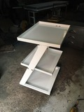 Equipment Trolley 3 Section metallic