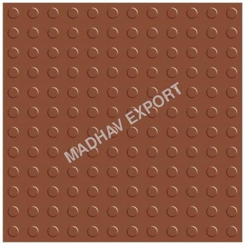 Button Terracotta Parking Tiles