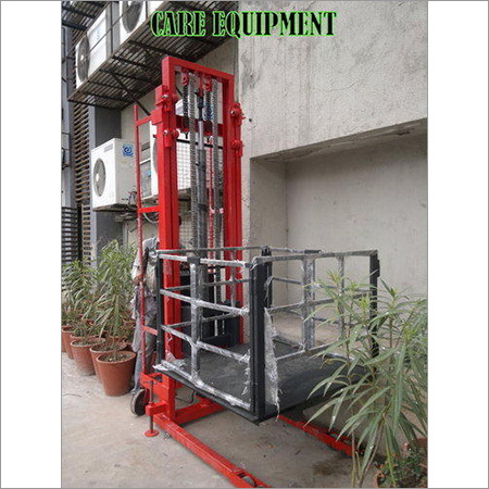 Hydraulic Platform Stacker