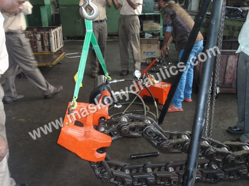 Hydraulic Track Pin Press Chain