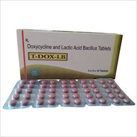 Doxycycline and Lactic acid Bacillus Tablets