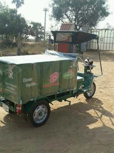 Garbage Collection E-Rickshaw