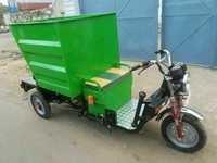 Hydraulic E-Rickshaw