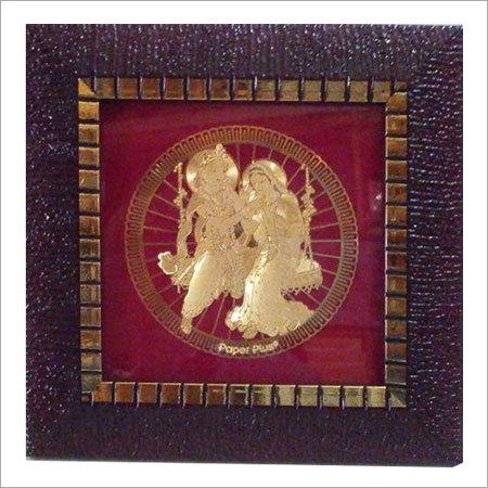 Radha Krishna Jhoola Religious Frames