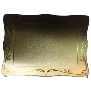 Gold Plated Trophy Mount