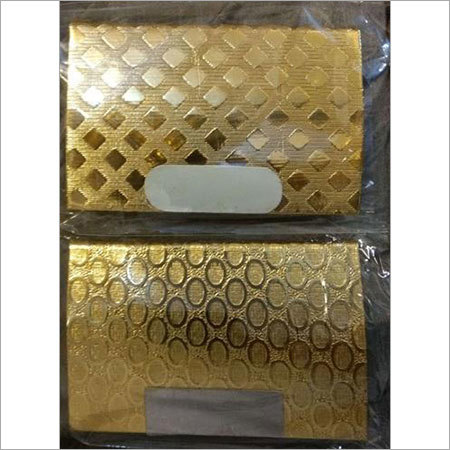Gold Plated Visiting Card Holder