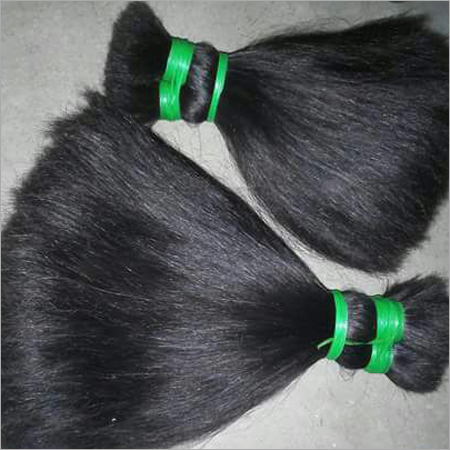 Non Remy double drawn human hair