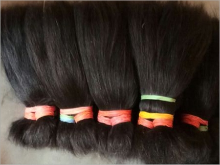 10' Double Drawn Human Hair
