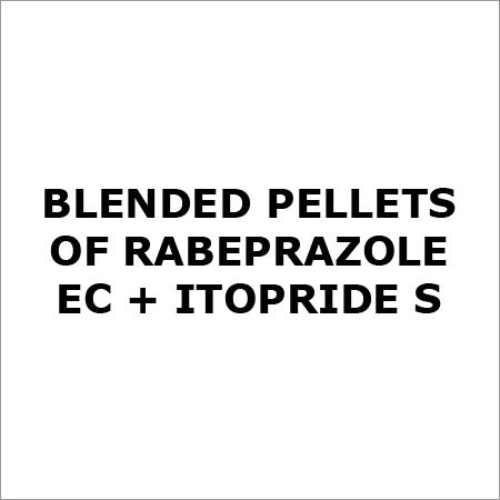 Blended pellets of Rabeprazole EC + Itopride S