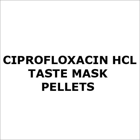 Ciprofloxacin HCl Taste Mask Pellets