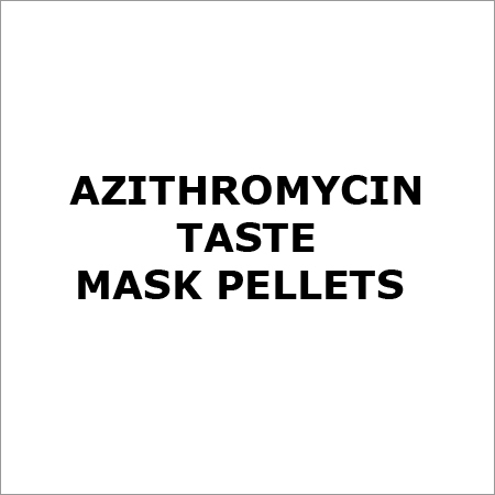 Azithromycin Taste Mask Pellets