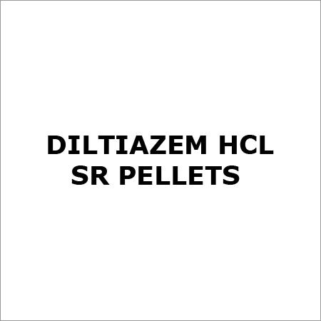 Diltiazem HCl SR Pellets