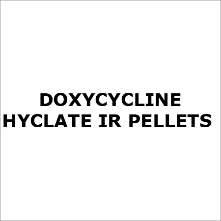 Doxycycline Hyclate IR Pellets