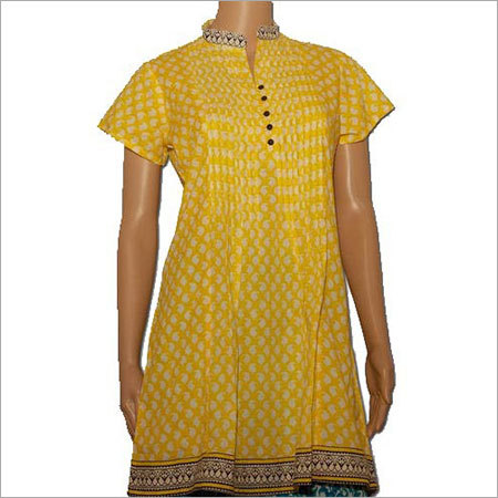 Handcrafted Cotton Kurti