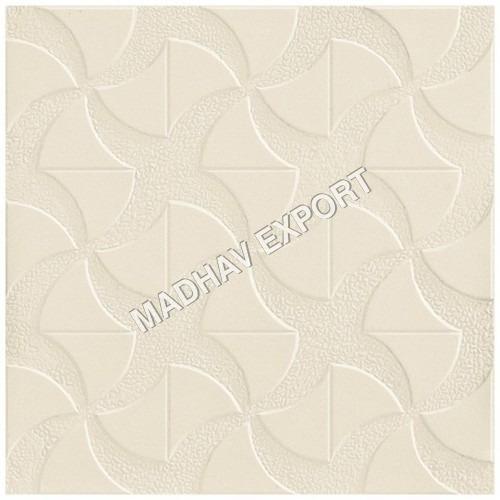 Revlon Ivory Vitrified Parking Tiles