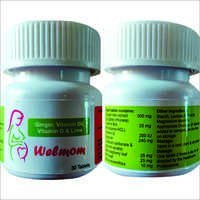 Welmom-Ginger, Vit B6, Vit D & Lime Tablets